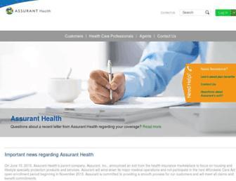 Thumbshot of Assuranthealth.com
