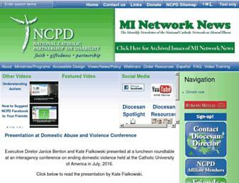ncpd.org screenshot