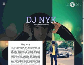 nyk.djmusicweb.com screenshot