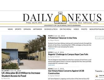 Thumbshot of Dailynexus.com