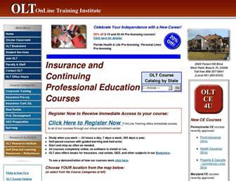 oltraining.com screenshot