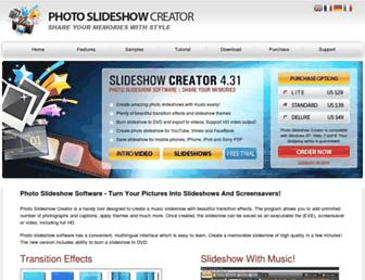photo-slideshow-creator.com screenshot