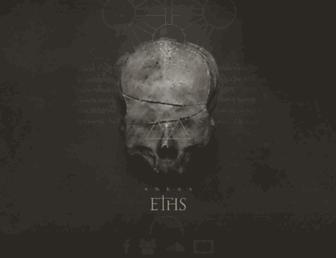 Main page screenshot of eths.net