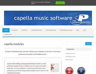 capellasoftware.com screenshot