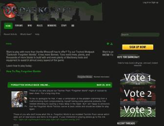 darkcraft.org screenshot
