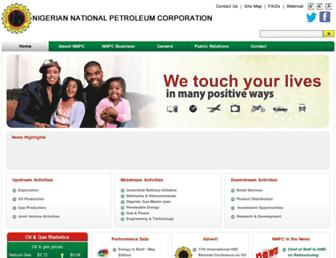 nnpcgroup.com screenshot