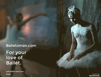 Thumbshot of Balletoman.com