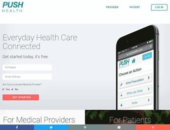 pushhealth.com screenshot