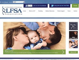 lfsassociation.org screenshot