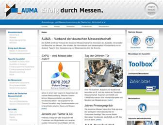 Thumbshot of Auma.de