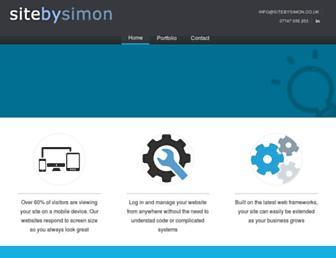 sitebysimon.co.uk screenshot