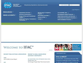 ifac.org screenshot