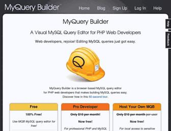 myquerybuilder.com screenshot