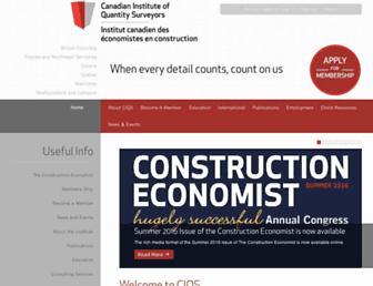 ciqs.org screenshot