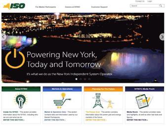 nyiso.com screenshot