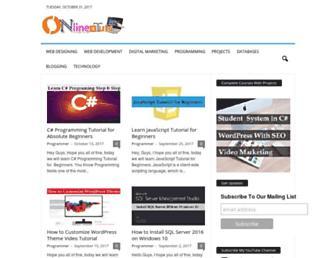 onlineittuts.com screenshot