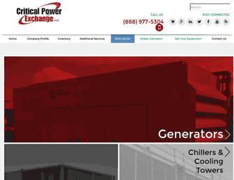 criticalpower.com screenshot
