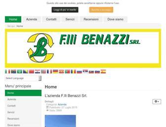 benazzi.info screenshot