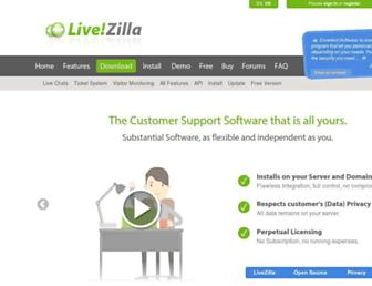Thumbshot of Livezilla.net