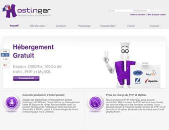 hostinger.fr screenshot