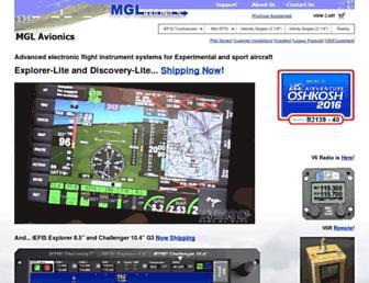 mglavionics.com screenshot