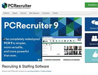 Thumbshot of Pcrecruiter.net