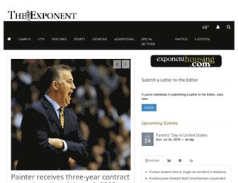 Thumbshot of Purdueexponent.org