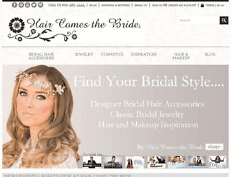 haircomesthebride.com screenshot
