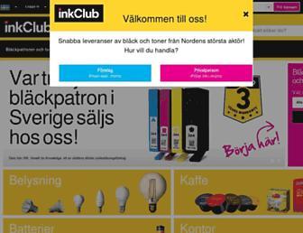 inkclub.com screenshot