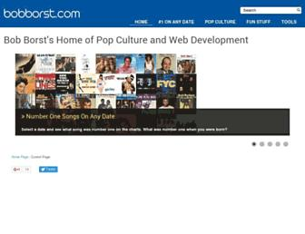 bobborst.com screenshot