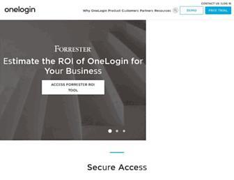 Thumbshot of Onelogin.com