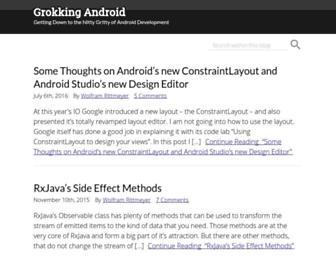 Thumbshot of Grokkingandroid.com