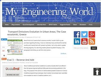 myengineeringworld.net screenshot