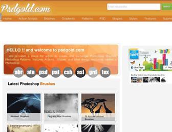 psdgold.com screenshot
