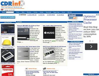 cdrinfo.com screenshot
