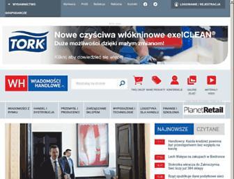 wiadomoscihandlowe.pl screenshot