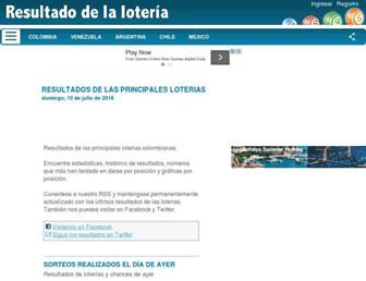 Thumbshot of Resultadodelaloteria.com