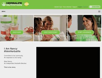 Thumbshot of Herbalife.com