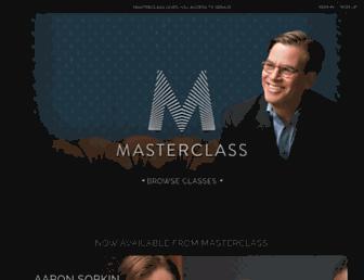 masterclass.com screenshot