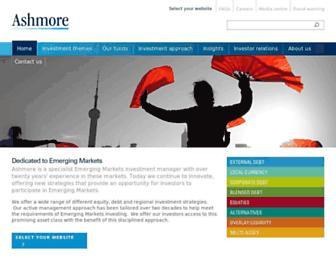 ashmoregroup.com screenshot