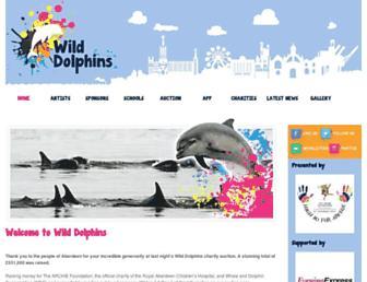 wilddolphins.org.uk screenshot