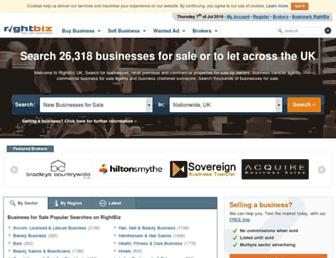 rightbiz.co.uk screenshot