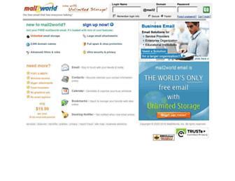 Thumbshot of Mail2world.com
