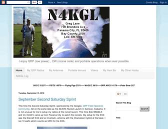 Main page screenshot of n4kgl.info