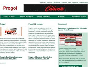 progol.es screenshot