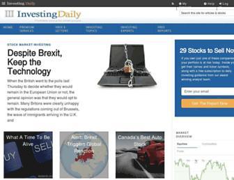 Thumbshot of Investingdaily.com