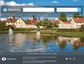 merinfo.se screenshot