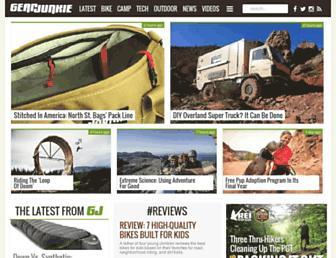 gearjunkie.com screenshot