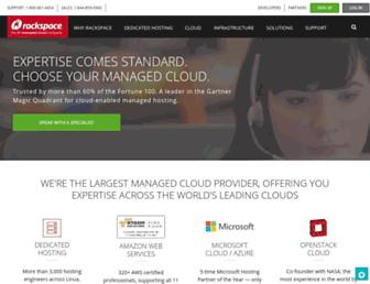 Thumbshot of Rackspace.com