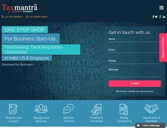 Thumbshot of Taxmantra.com